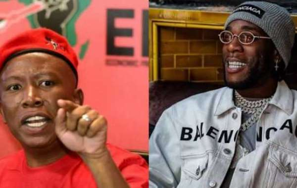 South African political leader, Julius Malema assures Burna Boy of his safety