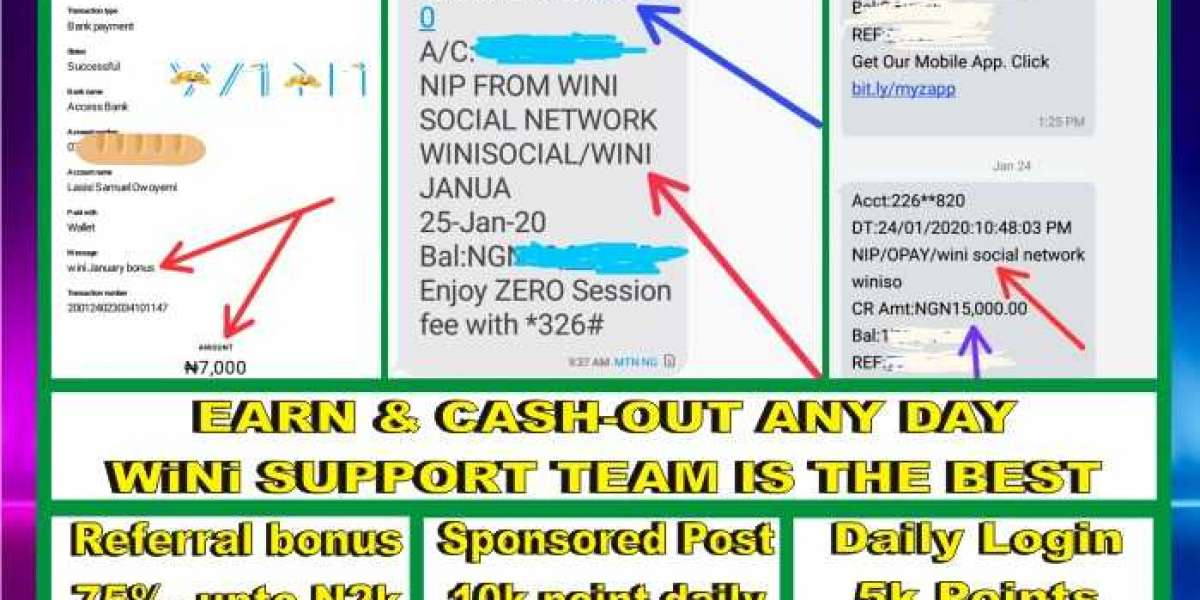 wini sponsored post for 25th Jan. 2020 - Earn your 10k points daily