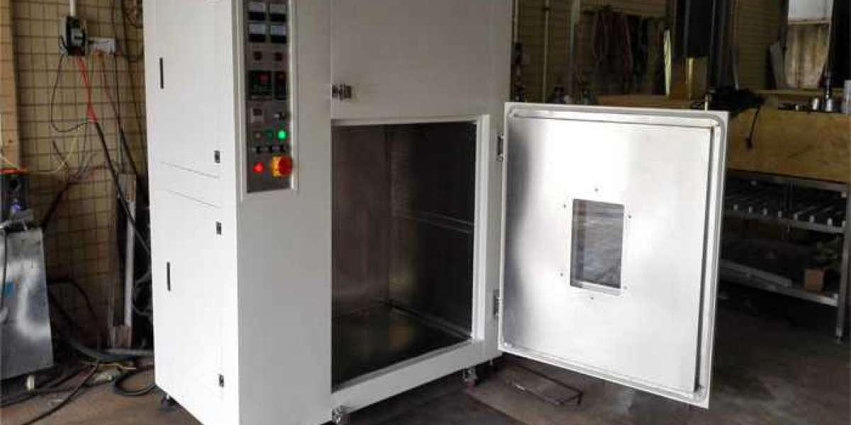 Rubber Curing Oven Process