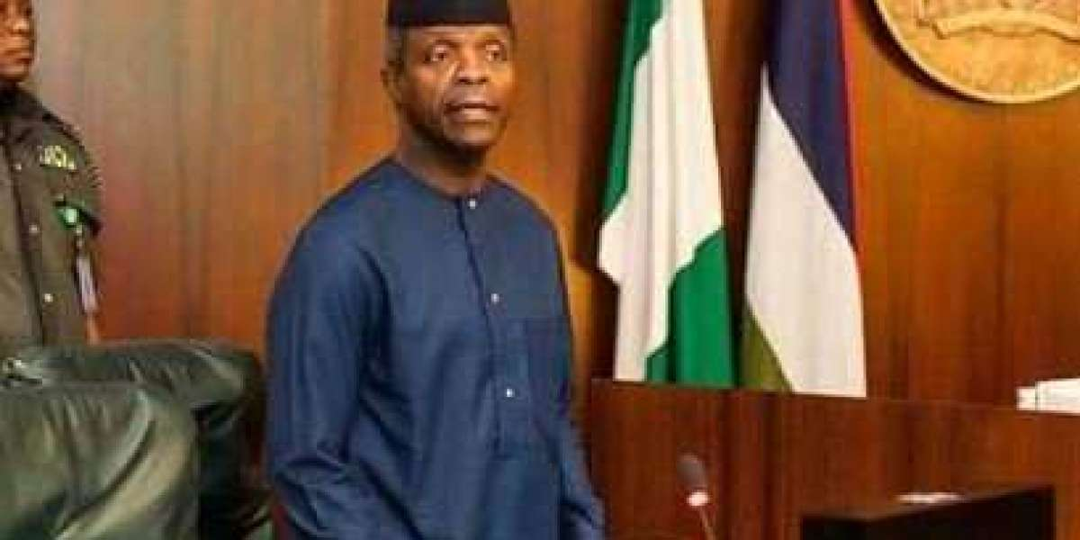 News  Osinbajo assures on provision of strategic infrastructure by Buhari to grow economy