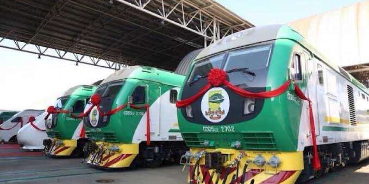 ELECTRIC TRAIN NOW IN NIGERIA