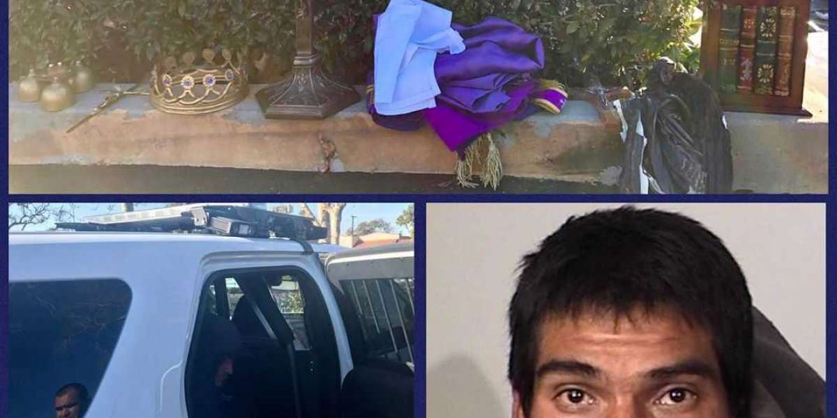 Man Arrested in Theft of Religious Antiques From Oxnard Church