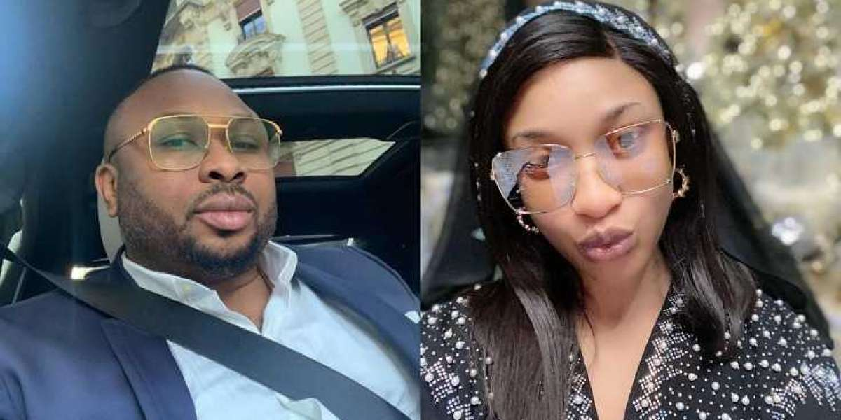 Olakunle Churchill shades Tonto Dikeh for calling him a '40 seconds man' in bed (Video)