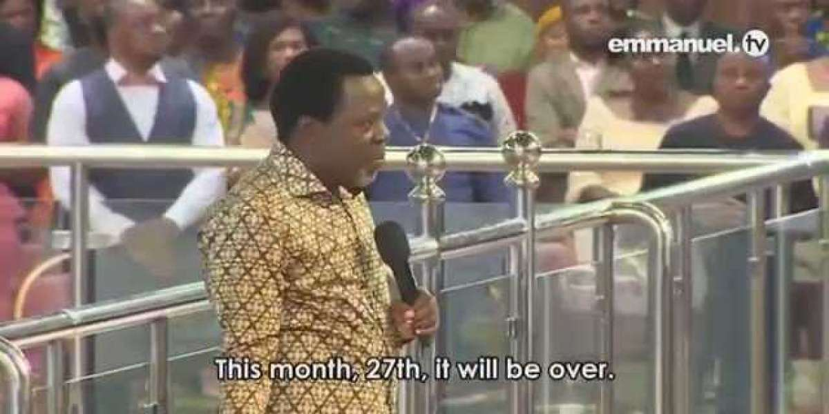 TB Joshua Said Coronavirus Will Be Over On 27th March, Tomorrow. Today Is 26th