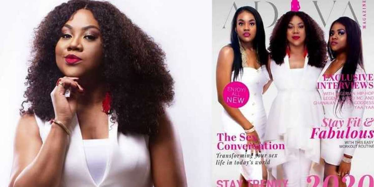 Actress Stella Damasus shows off her beautiful daughters for the first time as they grace the cover of her new magazine