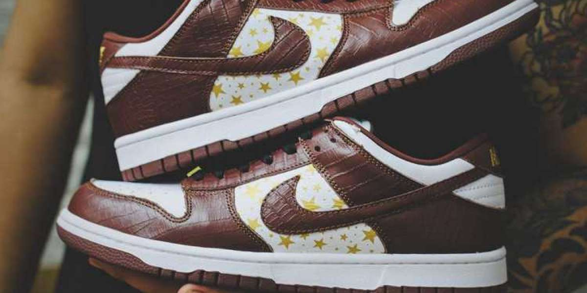 """DH3228-103 Supreme x Nike Dunk SB """"Brown"""" Released In 2021"""