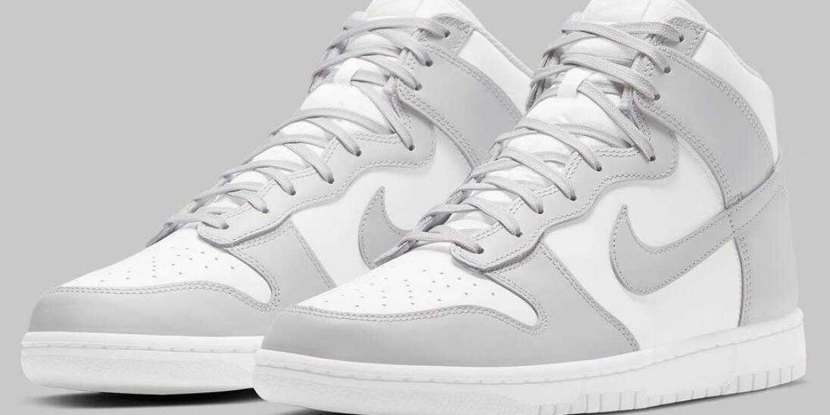 Save Up 30% to Buy Nike Dunk High Vast Grey Sport Shoes